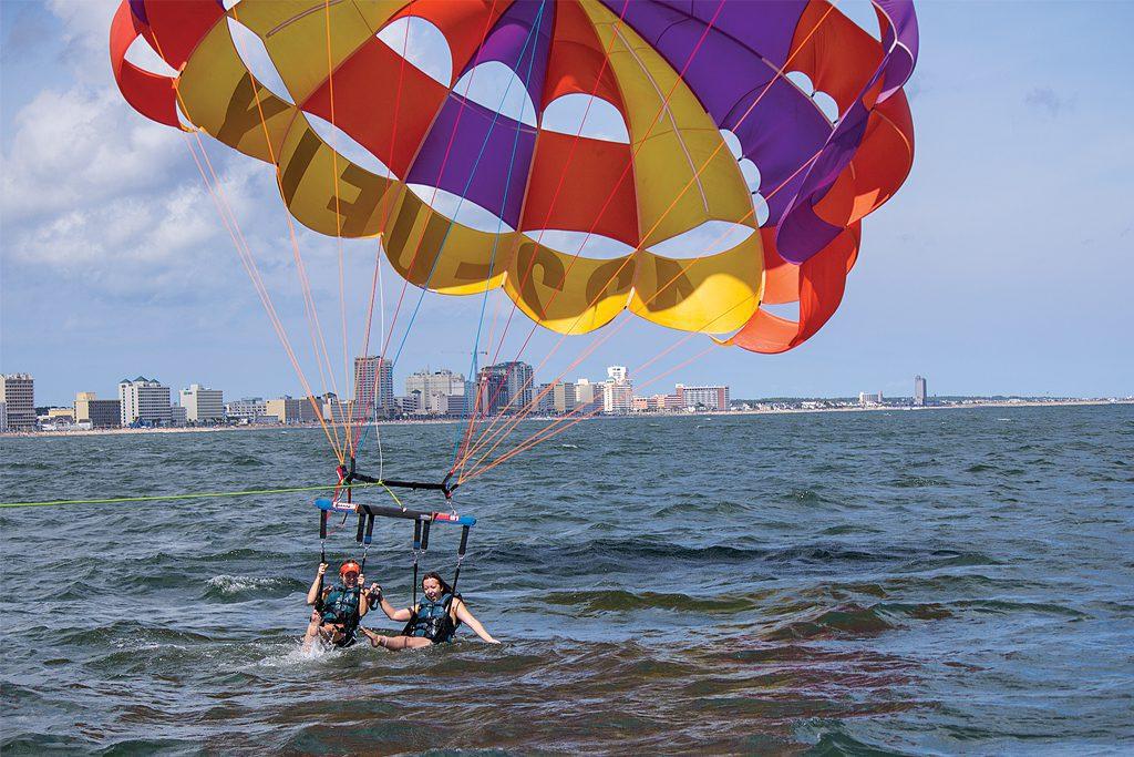 Oceanfront-parasailing