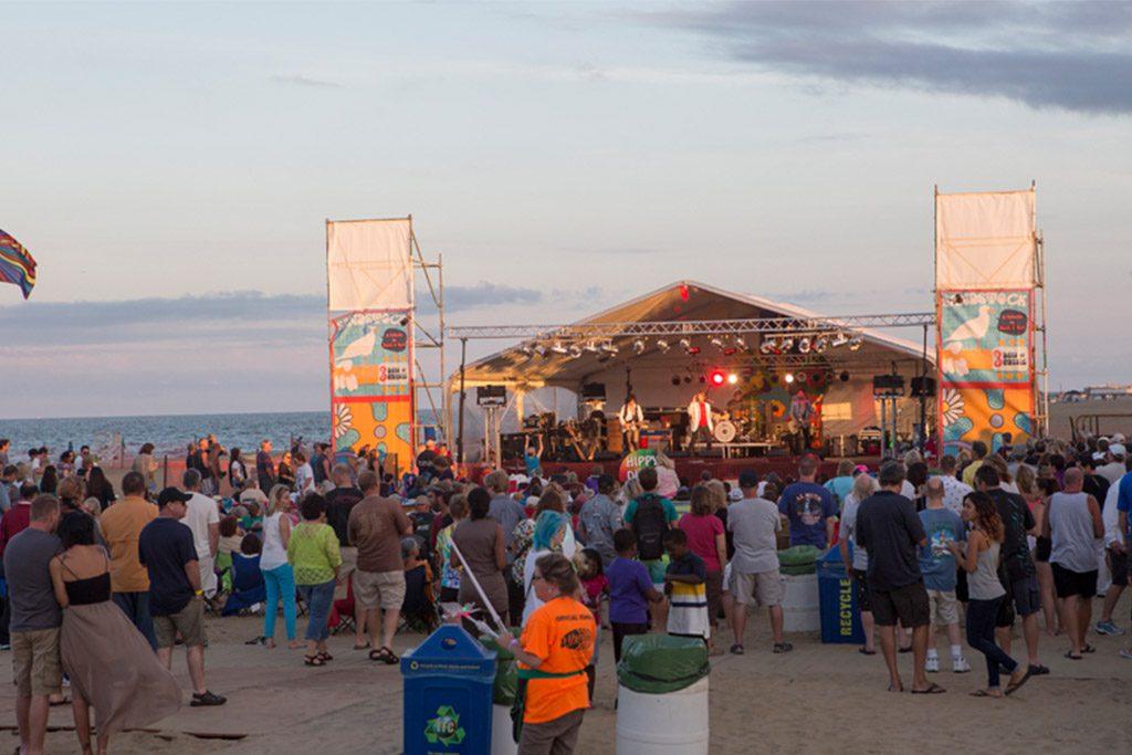 Virginia Beach's Sandstock festival