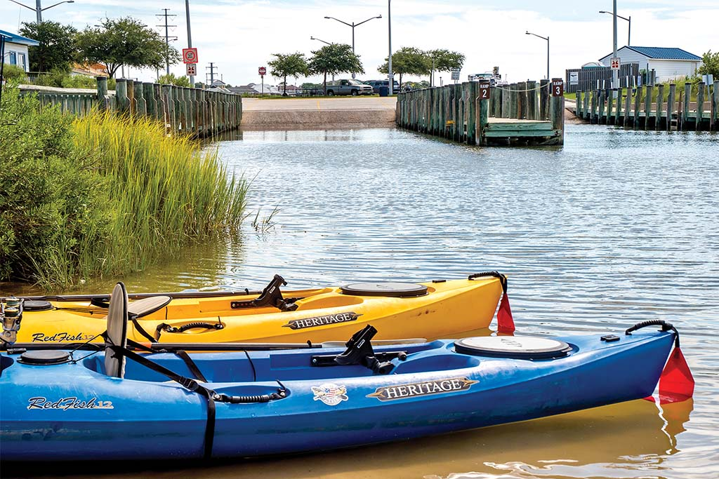 Kayaking in Virginia Beach