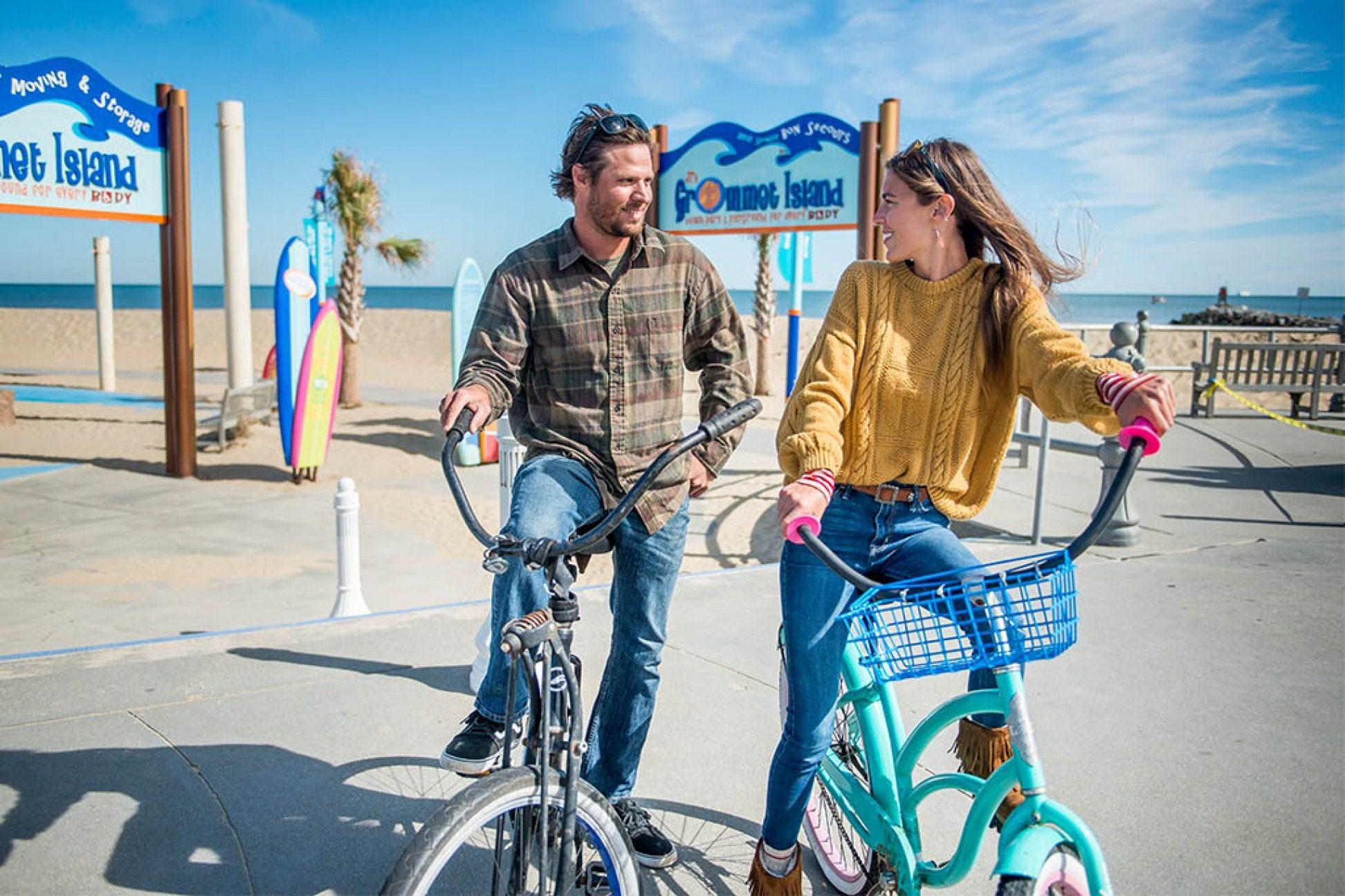 Biking in Virginia Beach