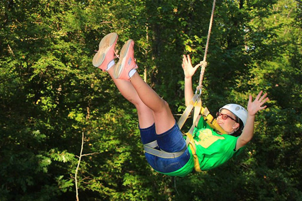 Virginia Beach ziplining