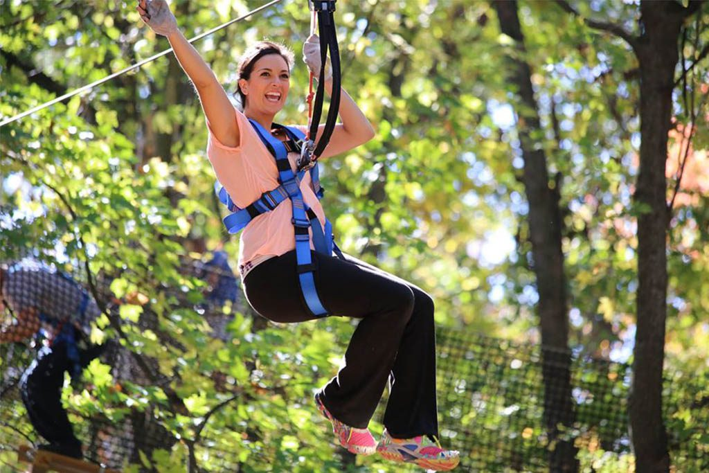 Ziplining in Virginia Beach