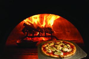 Aldos wood burning oven