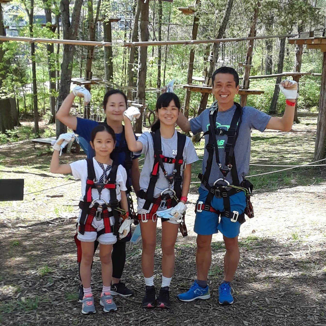 adventure park family