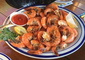 rudees on the inlet streamed shrimp