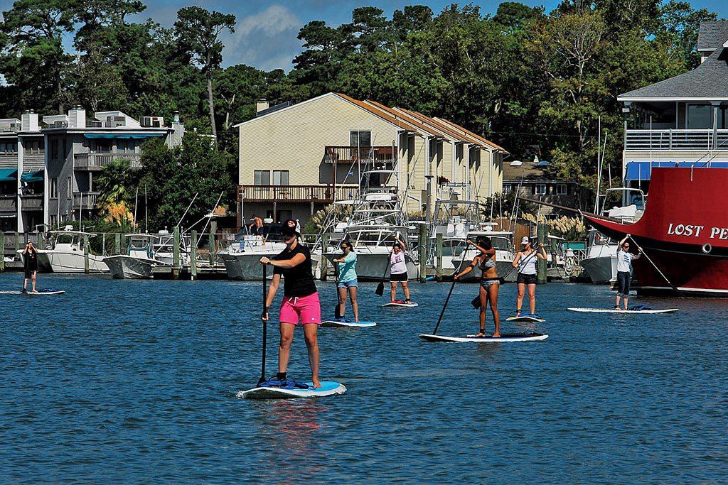Rudee Inlet water activities