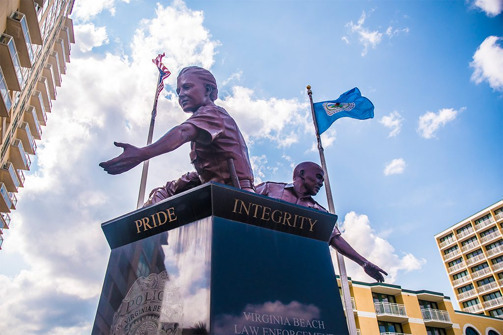 Virginia-Beach-law-enforcement-monument