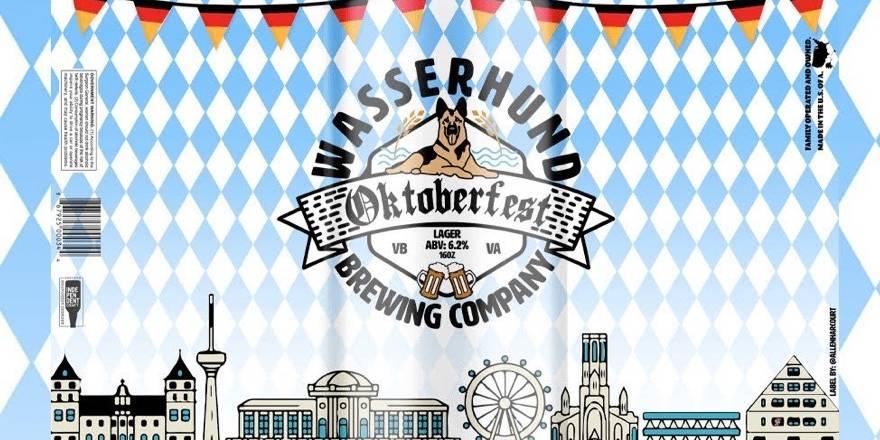 cover of oktoberfest beer at wasserhund brewing